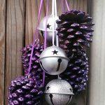 Ideas de decoracion navidena 2017 - 2018 en morado (23)