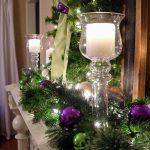 Ideas de decoración navideña 2017 - 2018 en morado (26)