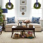 Ideas de decoracion para navidad en verde azulado con cobre (17)