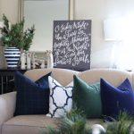 Ideas de decoracion para navidad en verde azulado con cobre (20)