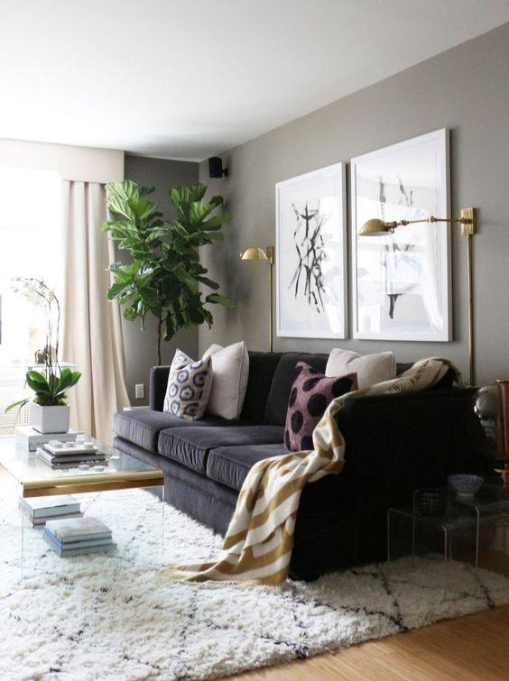 Ideas de decoración para salas de estar (16)