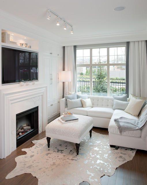 Ideas de decoración para salas de estar (19)