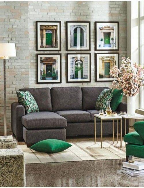 Ideas de decoración para salas de estar (21)