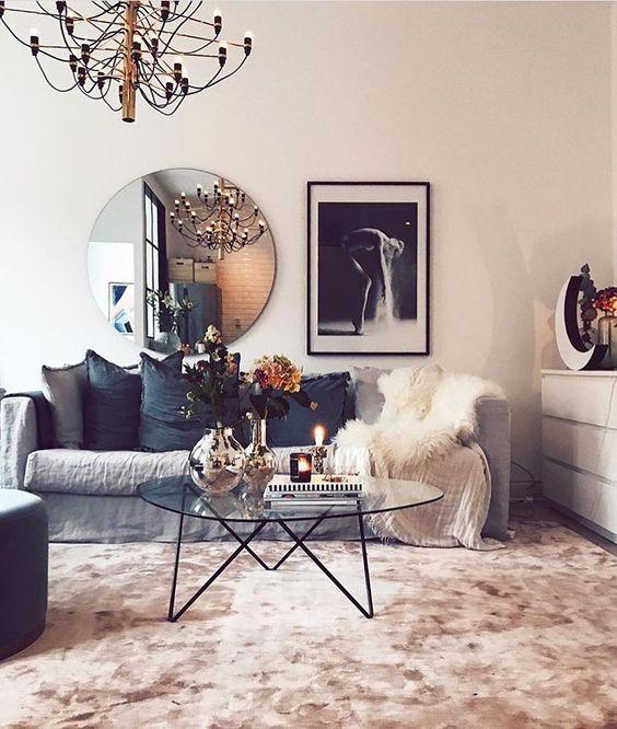 Ideas de decoración para salas de estar (23)