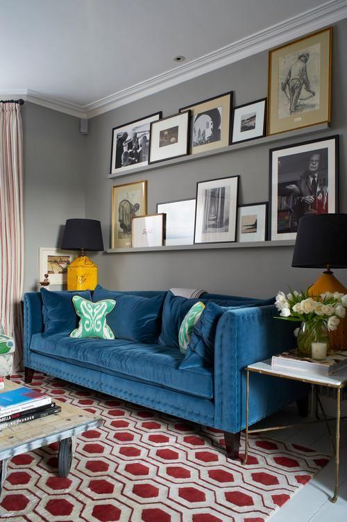 Ideas de decoraci n para salas de estar for Idea sala de estar cuadrada