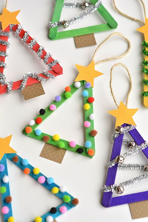 Ideas para Adornar un arbol de Navidad con Tus hijos (10)