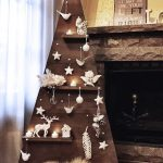 Ideas para Árboles de Navidad con Madera