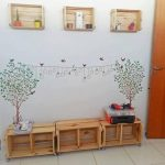 Mas de 39 ideas diferentes para organizar y decorar con cajas de madera