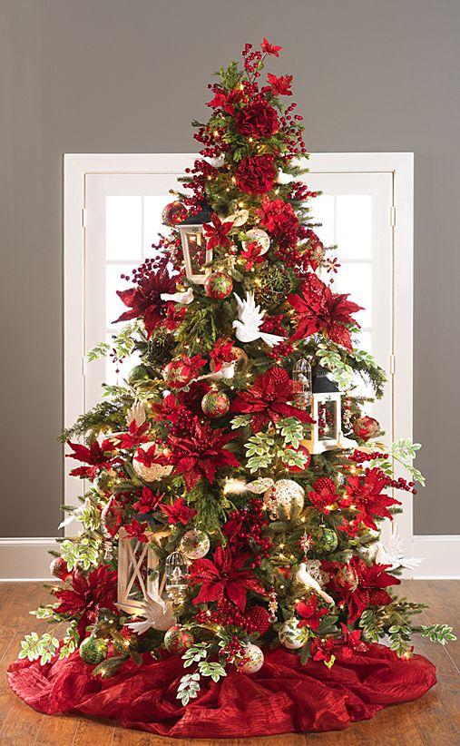 Nochebuenas para decorar esta navidad 2017 - 2018 (13)