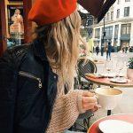 Outfits con boina francesa ¡Tendencia otoño - invierno 2017! (11)