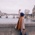 Outfits con boina francesa ¡Tendencia otoño - invierno 2017! (21)