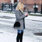 Outfits de jeans con botas largas otoño - invierno 2017 (13)