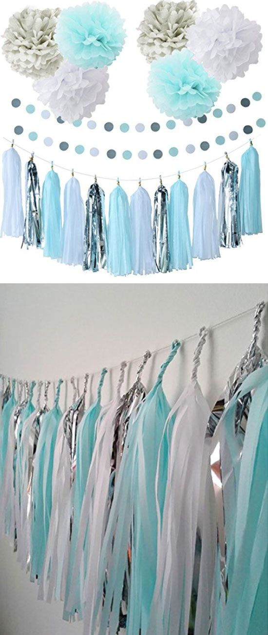 40 Ideas Que Puedes Intentar Para Decorar Un Baby Shower De Nino