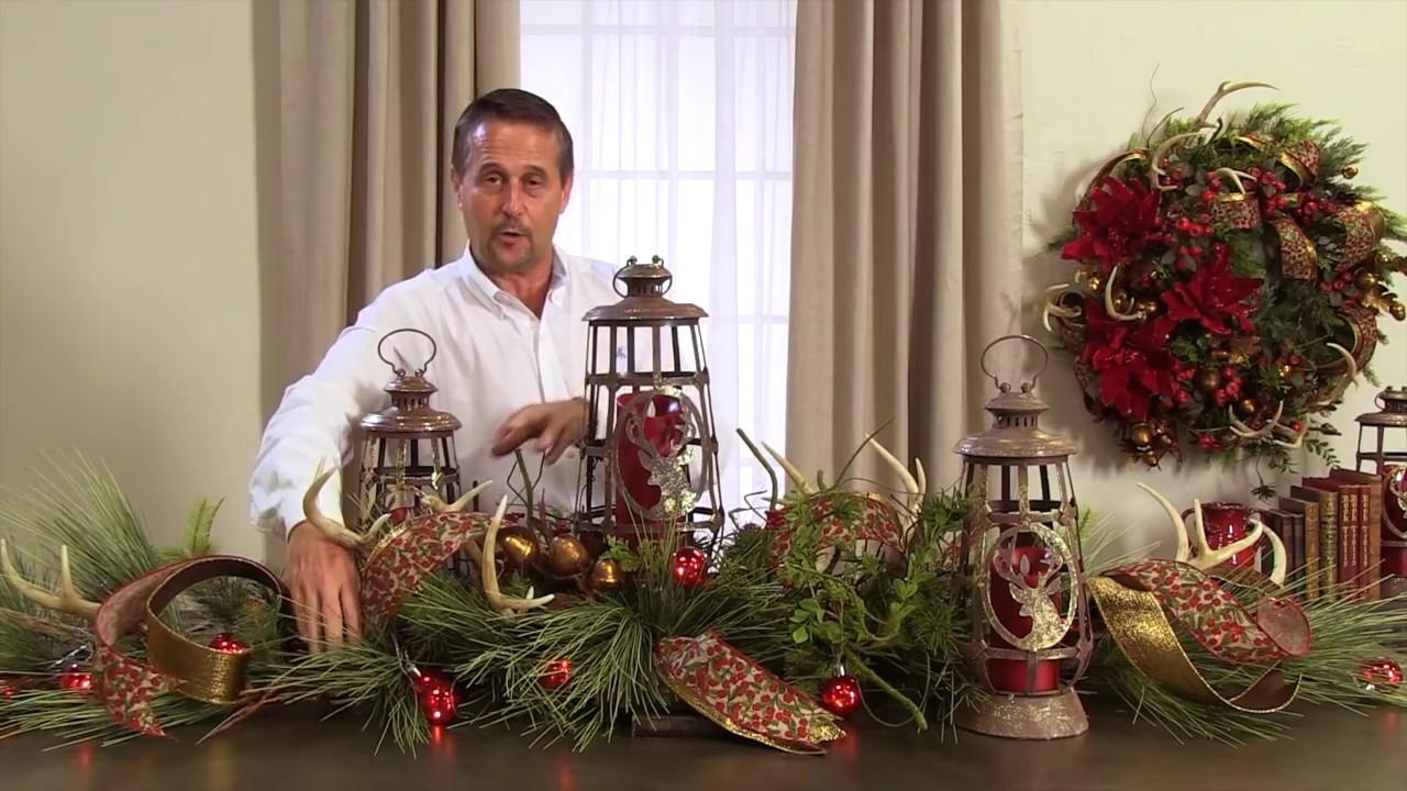Paso a paso para elaborar centros de mesa navide os - Mesa de navidad elegante ...