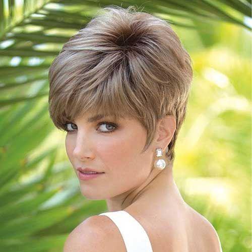 Cortes de cabello corto mujer cara cuadrada