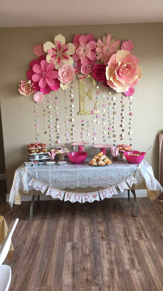 Decoracion baby shower niña