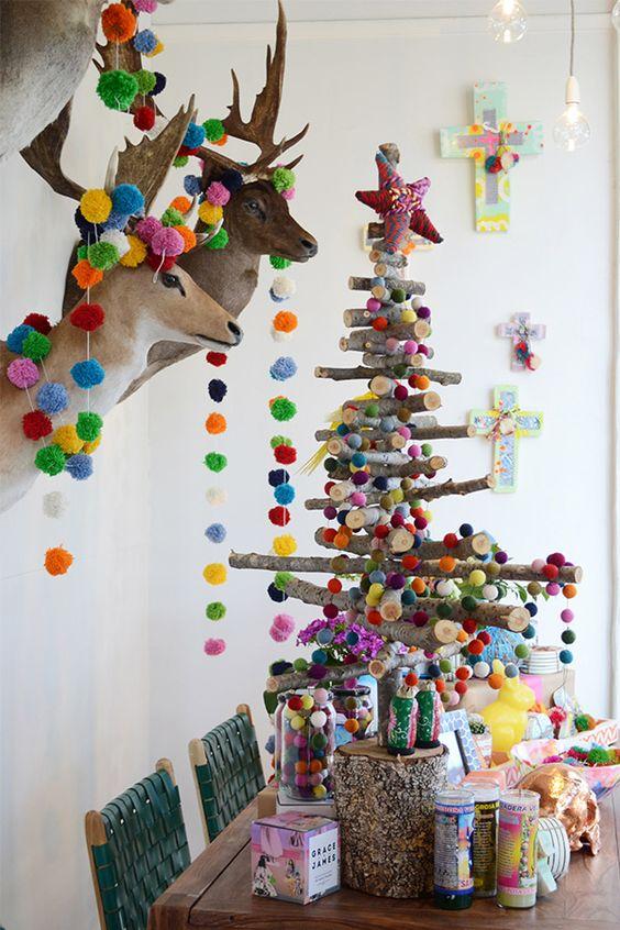 10 Arboles Navideños con Decoración Mexicana (7)