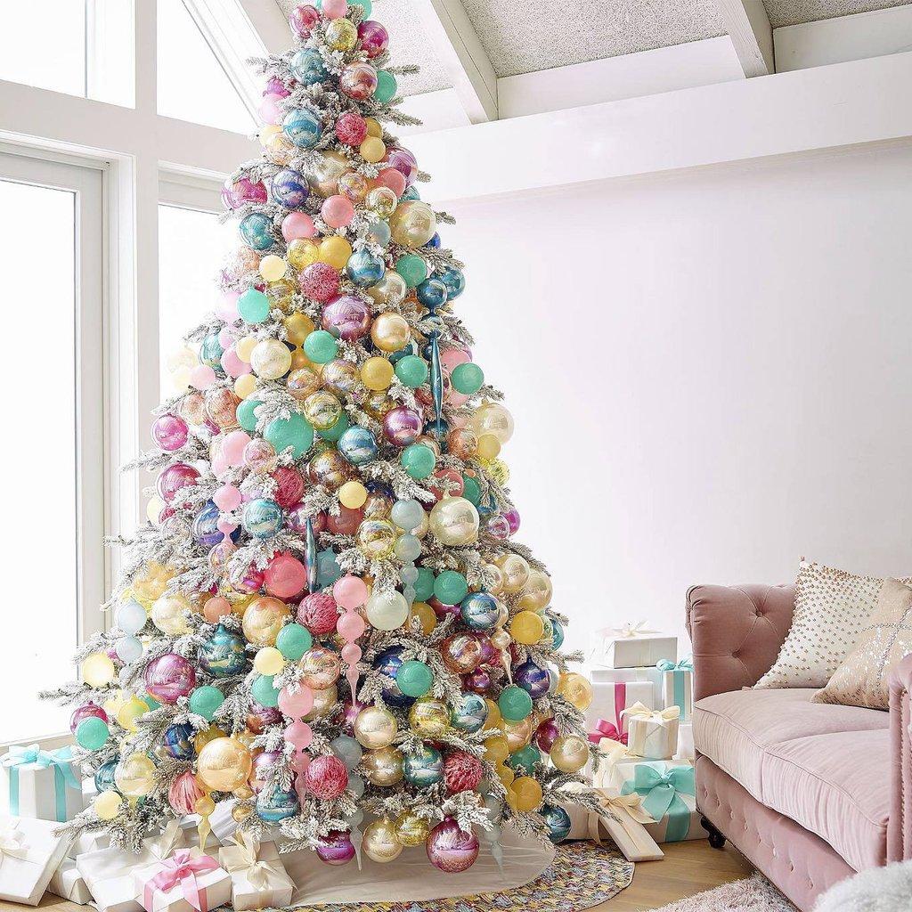 40 ideas para decorar el rbol de navidad decoracion de - Ideas para decorar la pared ...