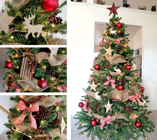 algunos troncos colgantes para decorar pias navideas e incluso adornos con hilo tipo yute son una de los adornos with como decorar pias para navidad with - Adornos De Navidad Con Pias