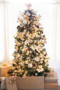 40 Ideas para Decorar el Arbol de Navidad (18)