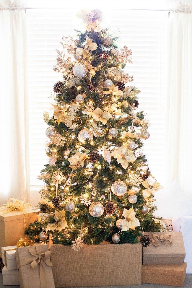 40 ideas para decorar el arbol de navidad 18 - Ideas decorar arbol navidad ...
