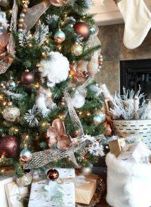 40 Ideas para Decorar el Arbol de Navidad (19)