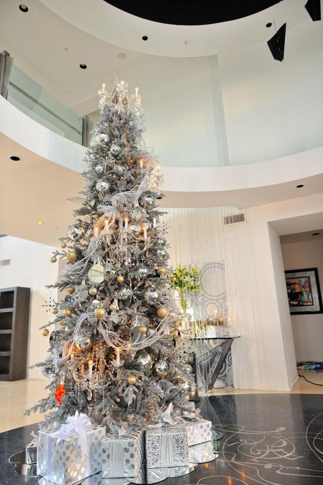40 ideas para decorar el arbol de navidad 21 for Decorar piso navidad