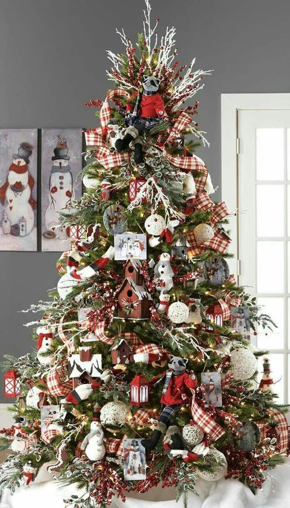40 ideas para decorar el arbol de navidad 26 for Ideas para decorar el arbol de navidad