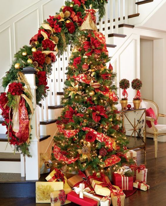 40 Ideas para Decorar el Arbol de Navidad (27)