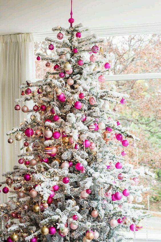 40 Ideas para decorar el Árbol de Navidad