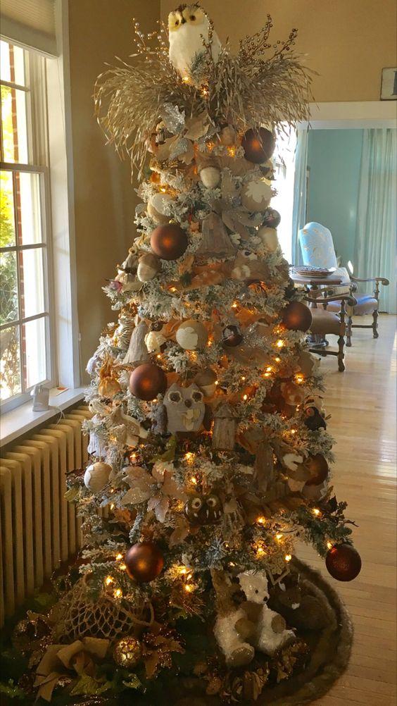 40 ideas para decorar el arbol de navidad 31 - Ideas decorar arbol navidad ...