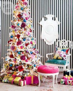 40 Ideas para Decorar el Arbol de Navidad (32)