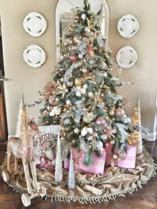 40 Ideas para Decorar el Arbol de Navidad (34)