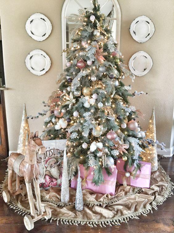 40 ideas para decorar el arbol de navidad 34 - Ideas decorar arbol navidad ...