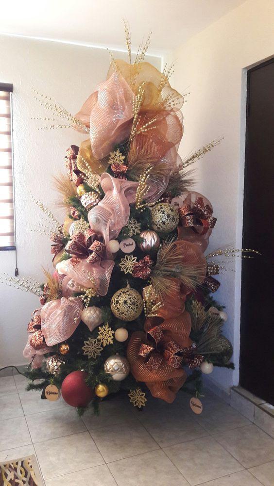 40 ideas para decorar el arbol de navidad 36 - Ideas para adornar el arbol de navidad ...