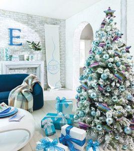 40 Ideas para Decorar el Arbol de Navidad (39)