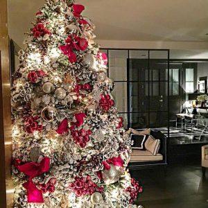 40 Ideas para Decorar el Arbol de Navidad (4)