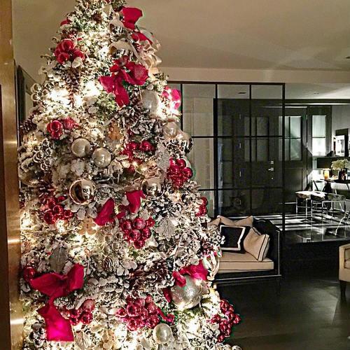40 ideas para decorar el arbol de navidad 4 decoracion - Ideas para adornar el arbol de navidad ...