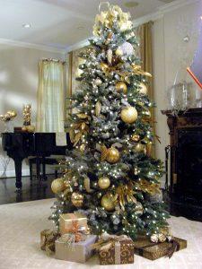 40 Ideas para Decorar el Arbol de Navidad (8)