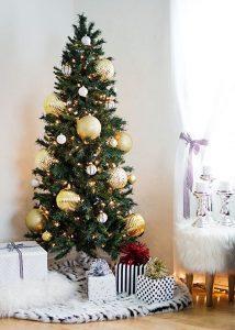 40 Ideas para Decorar el Arbol de Navidad (9)