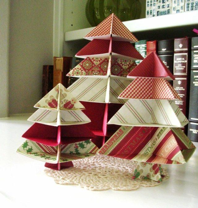 Centro de Mesa para Navidad con Papel (2)   Decoracion de interiores ...