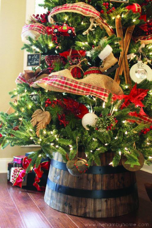 Fotos de arboles de navidad con cuadros