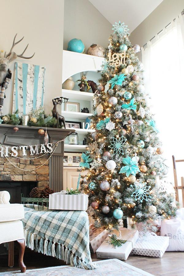 Arbol de Navidad 60 ideas Preciosas para Decorar (102)