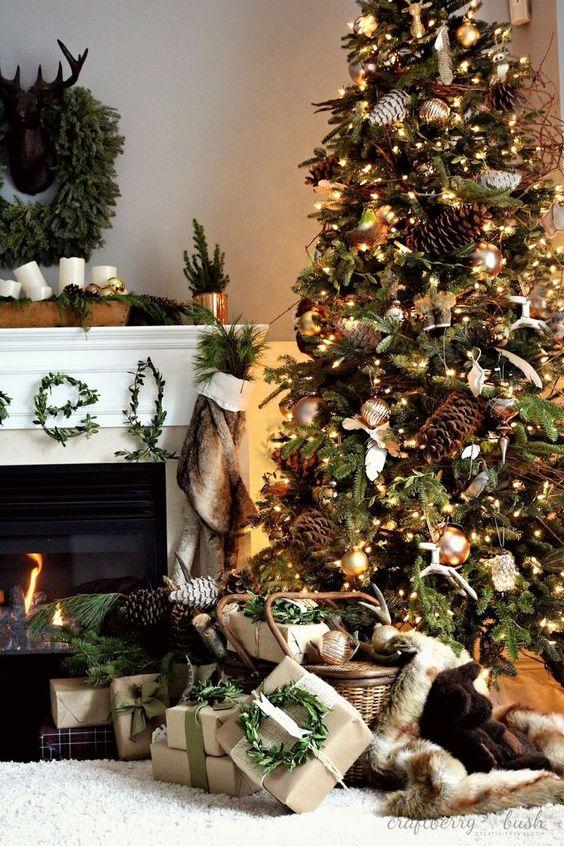 Arbol de Navidad 60 ideas Preciosas para Decorar (11)