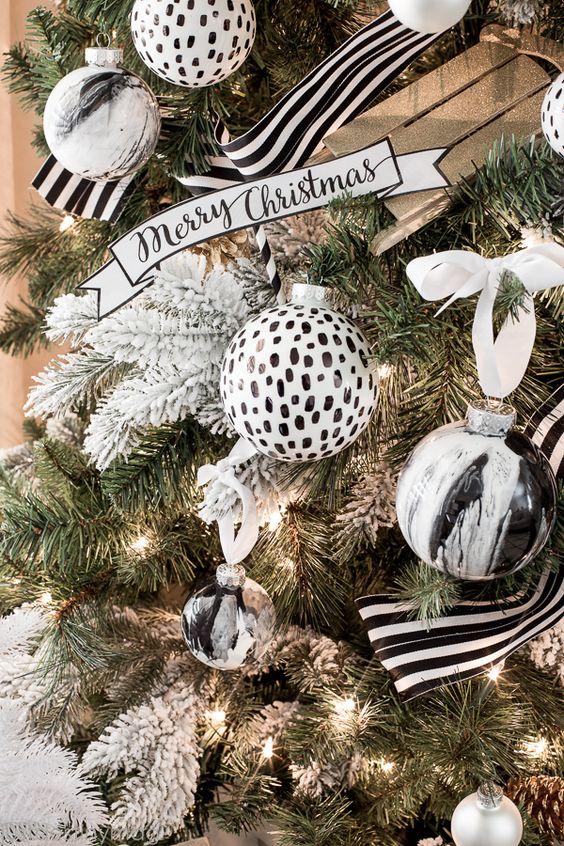 Arbol de Navidad 60 ideas Preciosas para Decorar (12)