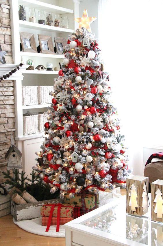 Arbol de Navidad 60 ideas Preciosas para Decorar (23)