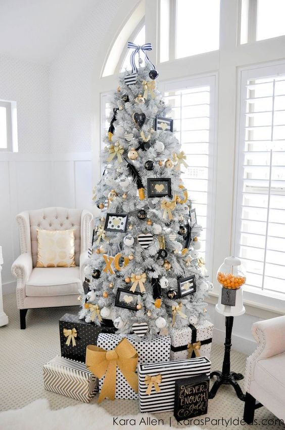 Arbol de Navidad 60 ideas Preciosas para Decorar (24)