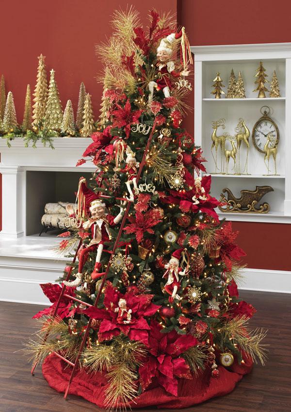 Arbol de Navidad 60 ideas Preciosas para Decorar (46)