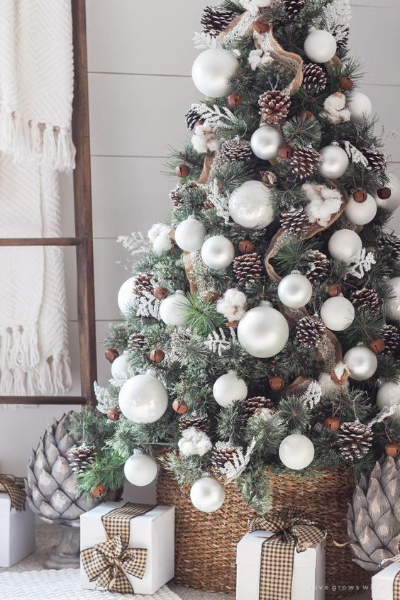 Arbol de Navidad 60 ideas Preciosas para Decorar (7)