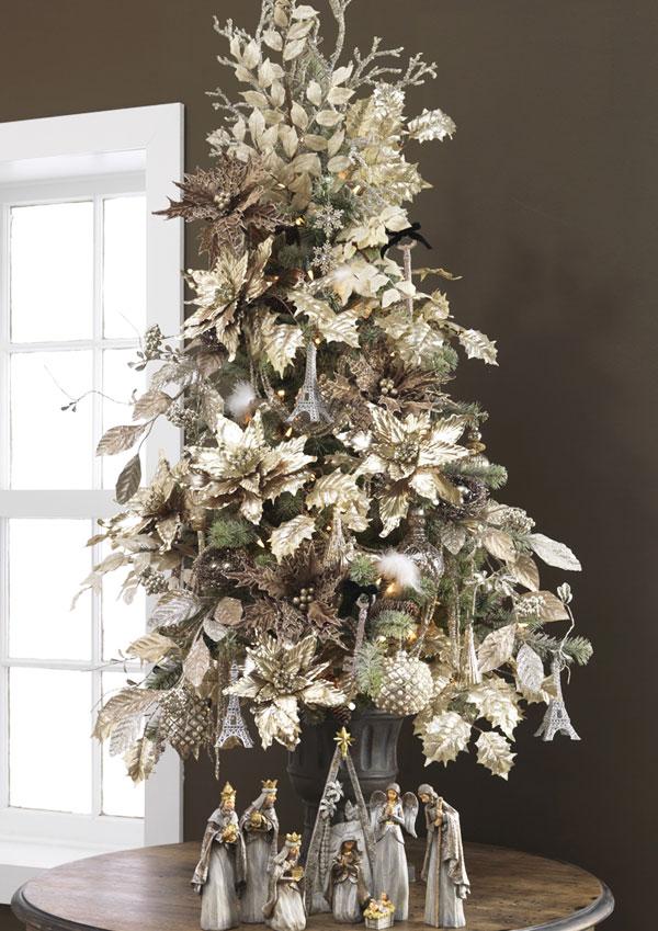 Como decorar arboles de navidad